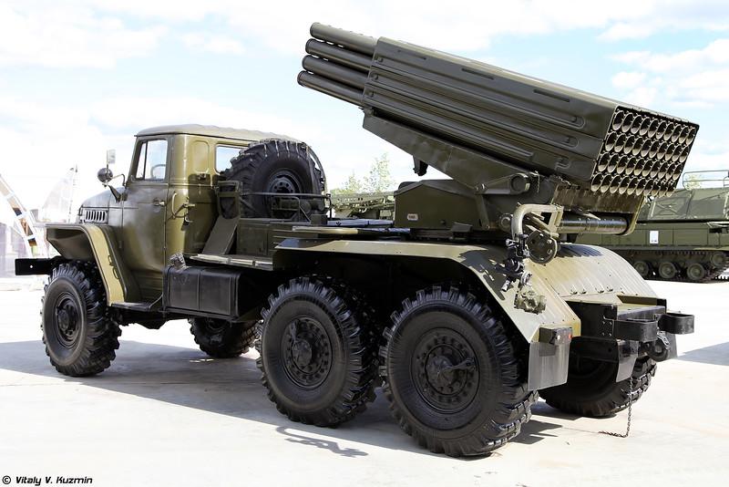БМ-21 РСЗО 9К51 Град (BM-21 9K51 Grad MLRS)