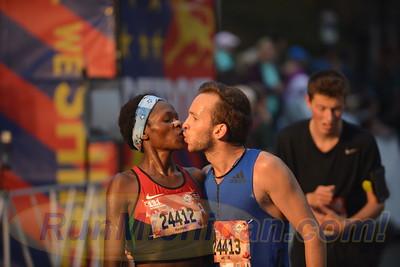 Intl. Half Finish, Gallery 1 - 2017 Detroit Free Press Marathon