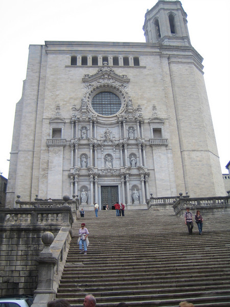 Girona's cathedral.
