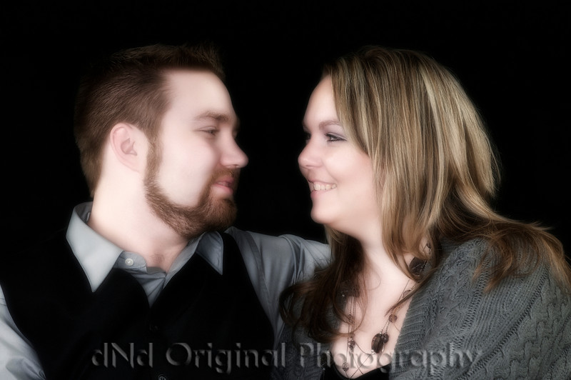 Jon & Nikki Soft Focus Glow
