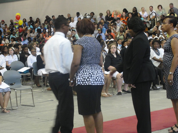 Oak Hill Bridging Ceremony
