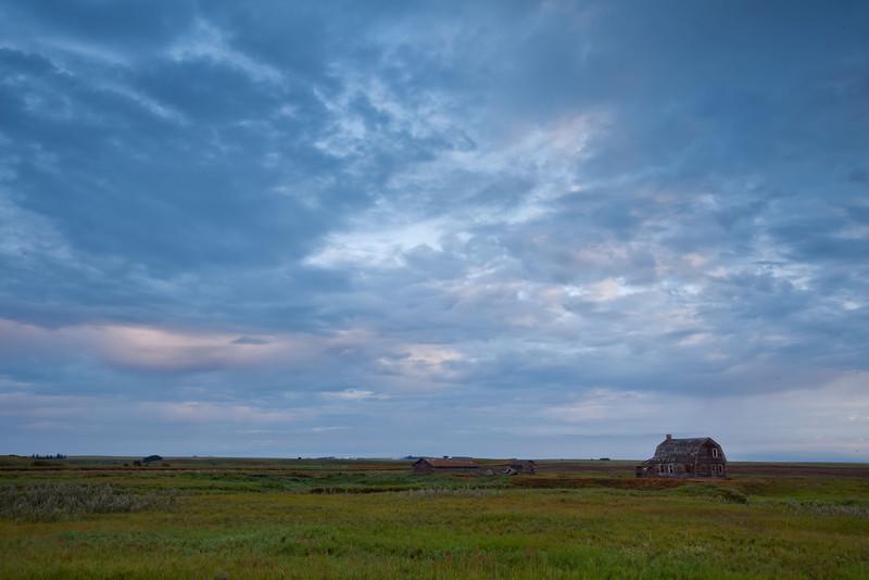 Old barns,