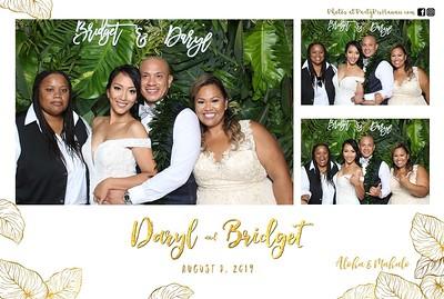 Daryl & Bridget's Wedding (Mini LED Open Air Photo Booth)