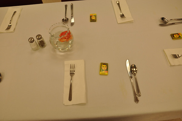 Eli's Graduation Project Dinner