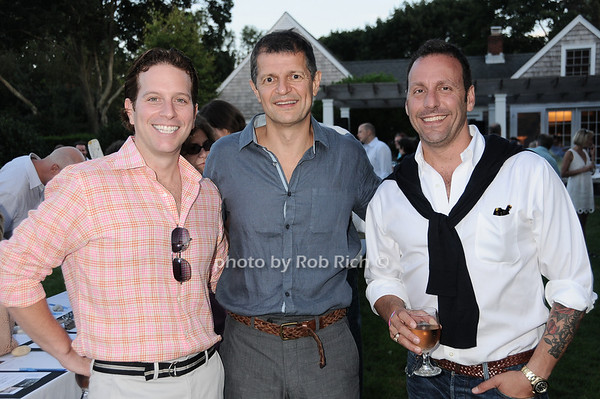 Eric Malley, Gerry Logue, Jack Bergamino  photo by Rob Rich © 2010 robwayne1@aol.com 516-676-3939