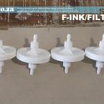 SKU: F-INK/FILTER, 50μm (50 Micrometres) Solvent Resistant Ink Filter for FastCOLOUR Printer, A Set of 4 Filters