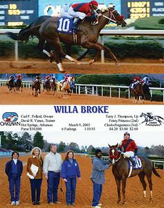 WILLA BROKE - 3/09/2003