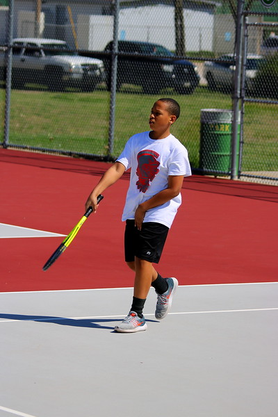 WMS 7/8 BOYS TENNIS vs EL DORADO  041017