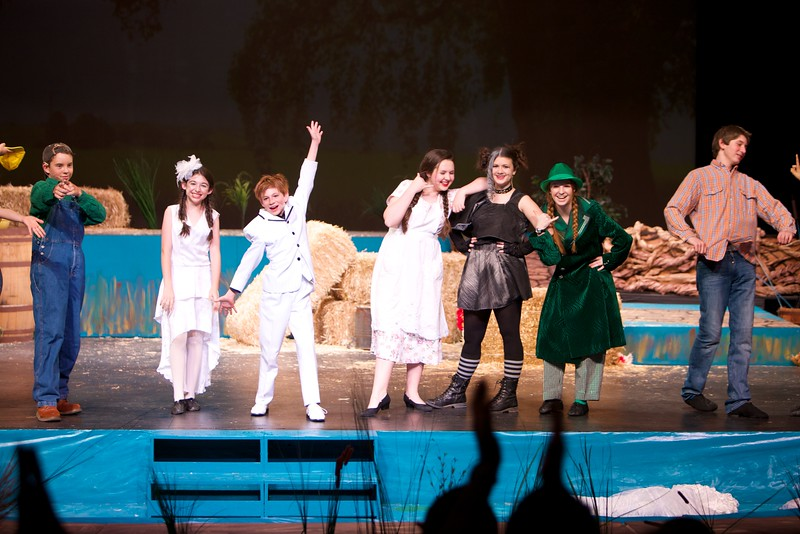 Tesseract Middle School Production of Honk Jr. 2014