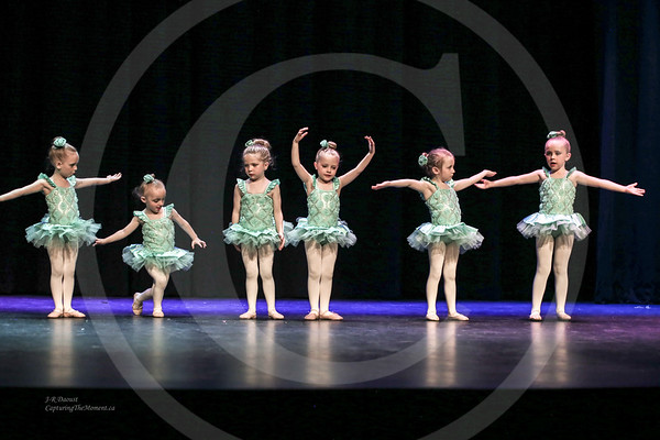 """Tinkerbell"" - Performed by Mini 2 Ballet, June 2017 Recital."