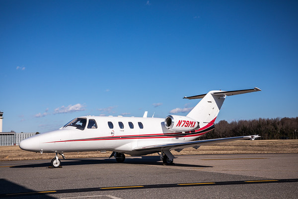 Citation CJ1 N79MX High Res