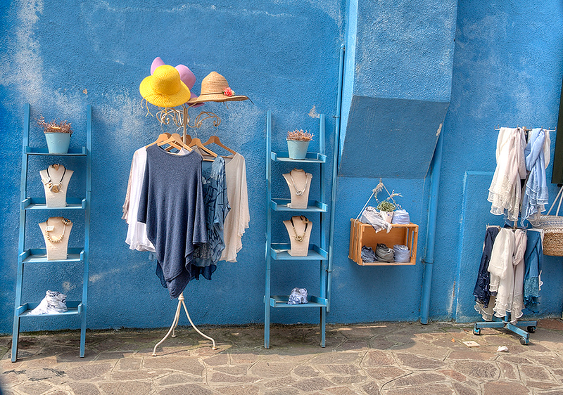 The Blue Stall