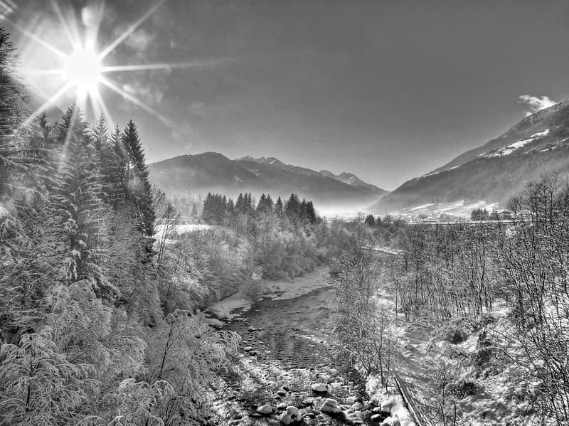 Noce River - Malè, Trento, Italy - January 2009