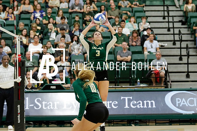 2017 Cal Poly Volleyball vs Riverside