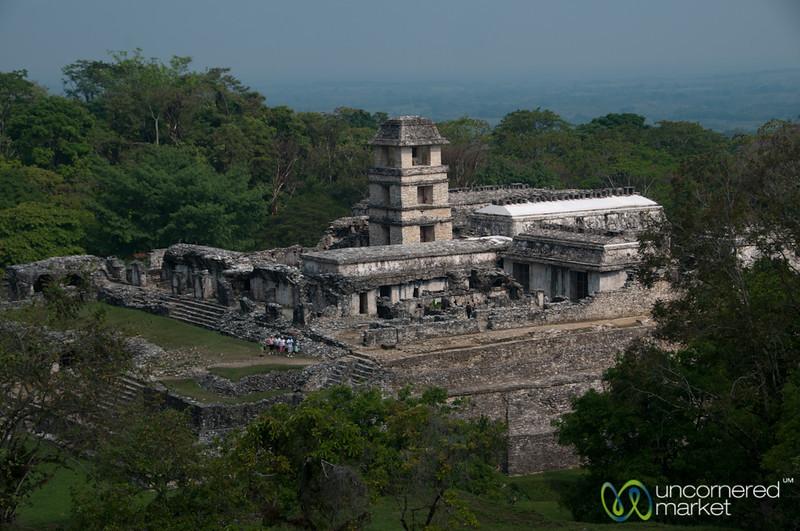 Palenque Mayan Palace - Chiapas, Mexico