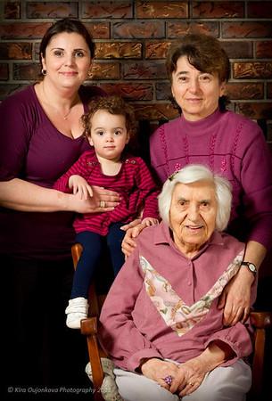 Rebecca Family Women of 4 Generations