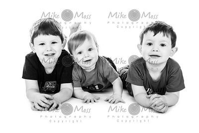 Isaac, Seb & Hayden