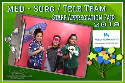 092518- Kaiser Permanente: Med-Surg/Tele Team Fair 2018
