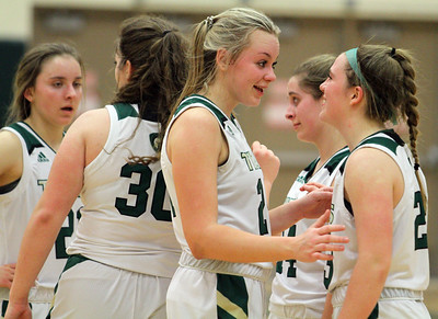 Basketball: Gaylord at TC West girls district quarterfinal, 3-2-20