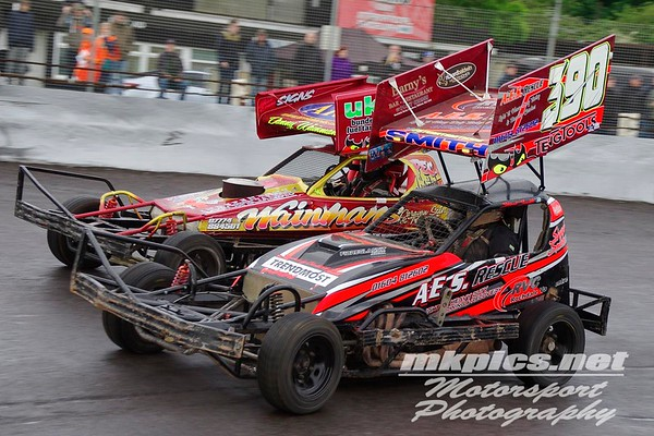 BriSCA F1 Stockcars, Northampton 20 May 2017