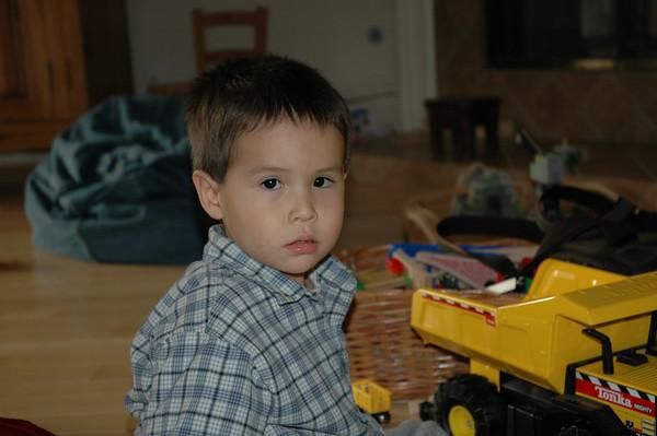 2005 02 06 Jack and the Tonka Truck