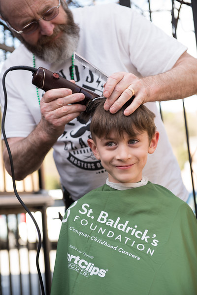 2016 St. Baldricks Brave The Shave - Meehans