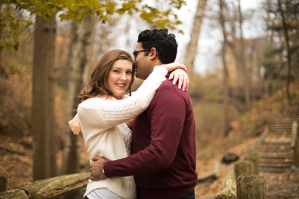 Emily and Rahul Engagement Photos