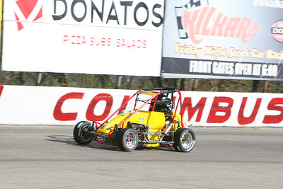 USAC Midgets, Columbus Motor Speedway, Columbus, OH, April 4, 2009