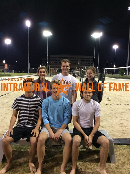 Spring 2018 Sand Volleyball Coed B Champion Snap Crackle Pop