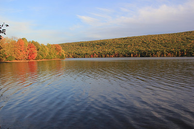 Autumn View, Still Creek Reservoir, Hometown (9-30-2012)