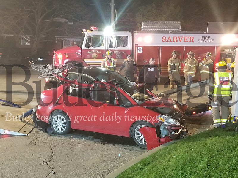 Buffalo Twp. 2 car accident