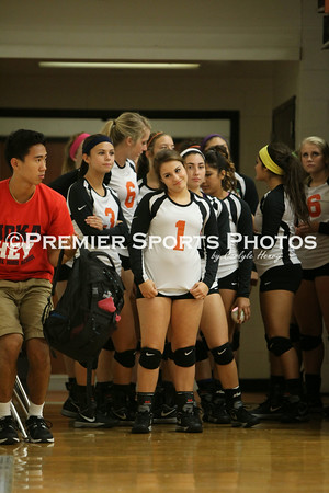 La Porte Varsity Volleyball vs Manvel 9/3/2014