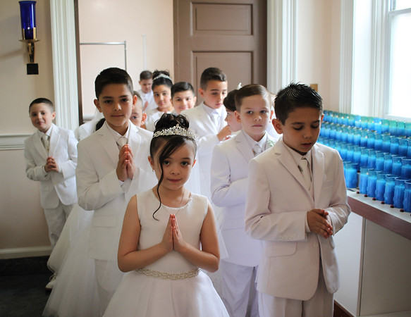 St. Clare's Communion May 4, 2019