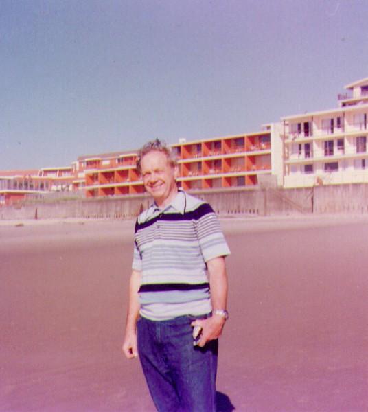 Wayne on beach at Lincoln, City, OR .jpg