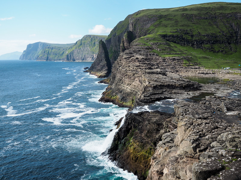 Bøsdalafossur in the Faroe Islands