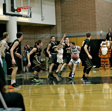 Gilbert vs. Highland Boys Varsity Basketball Game [1/26/16]