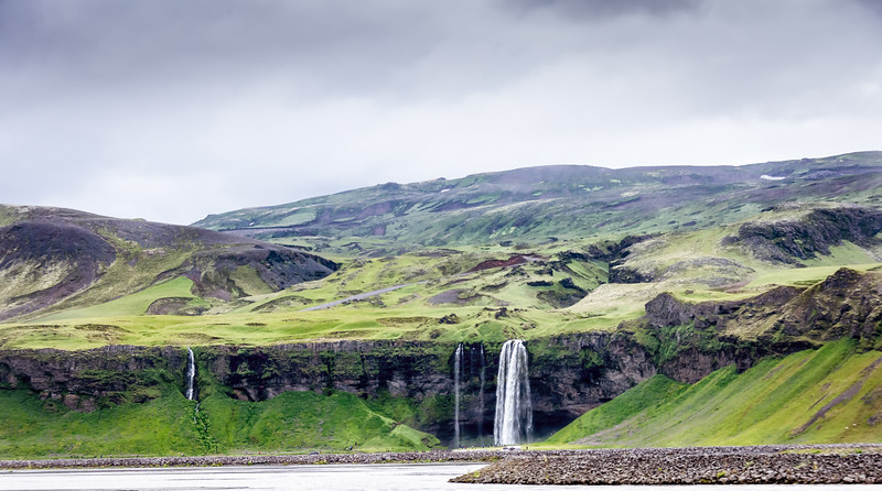Waterfall on Iceland