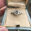 2.73ct Old European Cut Diamond Diamond Ring, AGS M VS2 7