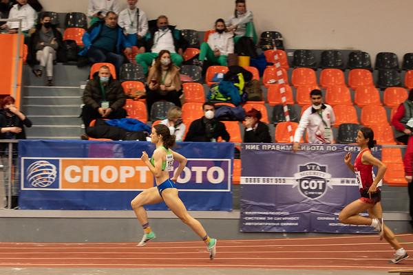 Running, 800m, Women