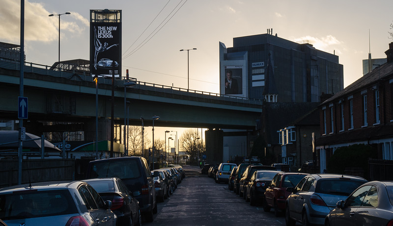 M4 flyover in west London