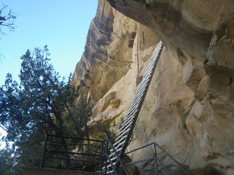 At Mesa Verde NP I visited Balcony House, too – 1 hour tour.