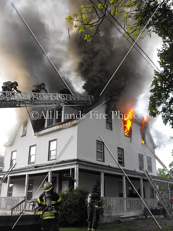 20090512 - Wappingers Falls - House Fire