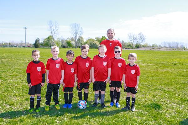 U8 Boys Team 1