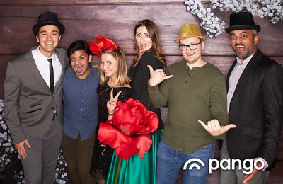 Pango Holiday Party Studio Booth