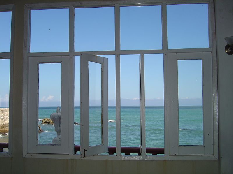 Window On The Sea -- Gibarra, Cuba
