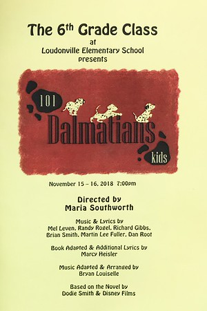101 Dalmations Kids Program