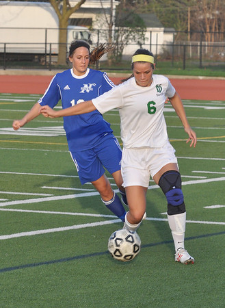 St. Charles North at York, girls soccer