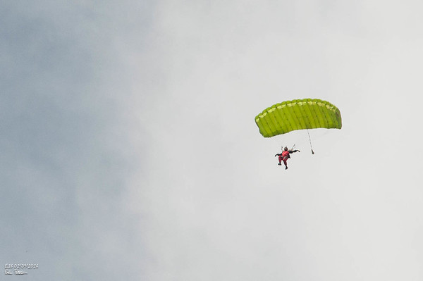 1st Skydiving Jump at E16