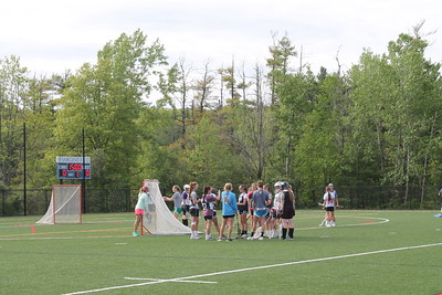 Alumni Girls' Lacrosse Game Spring 2014