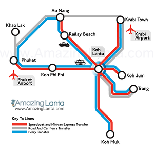 Koh Lanta Maps